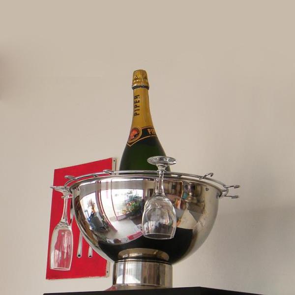Seau à champagne inox