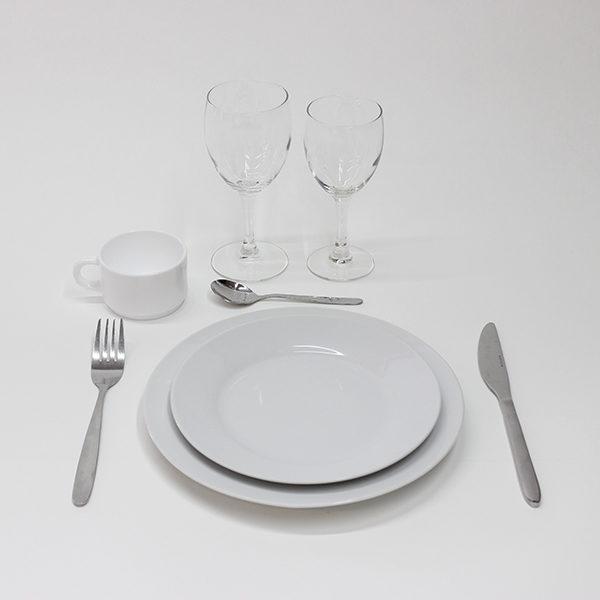 """Formule : """" plat et dessert """"(à partir de 30 personnes)"""