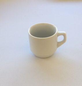 Tasse porcelaine 9cl