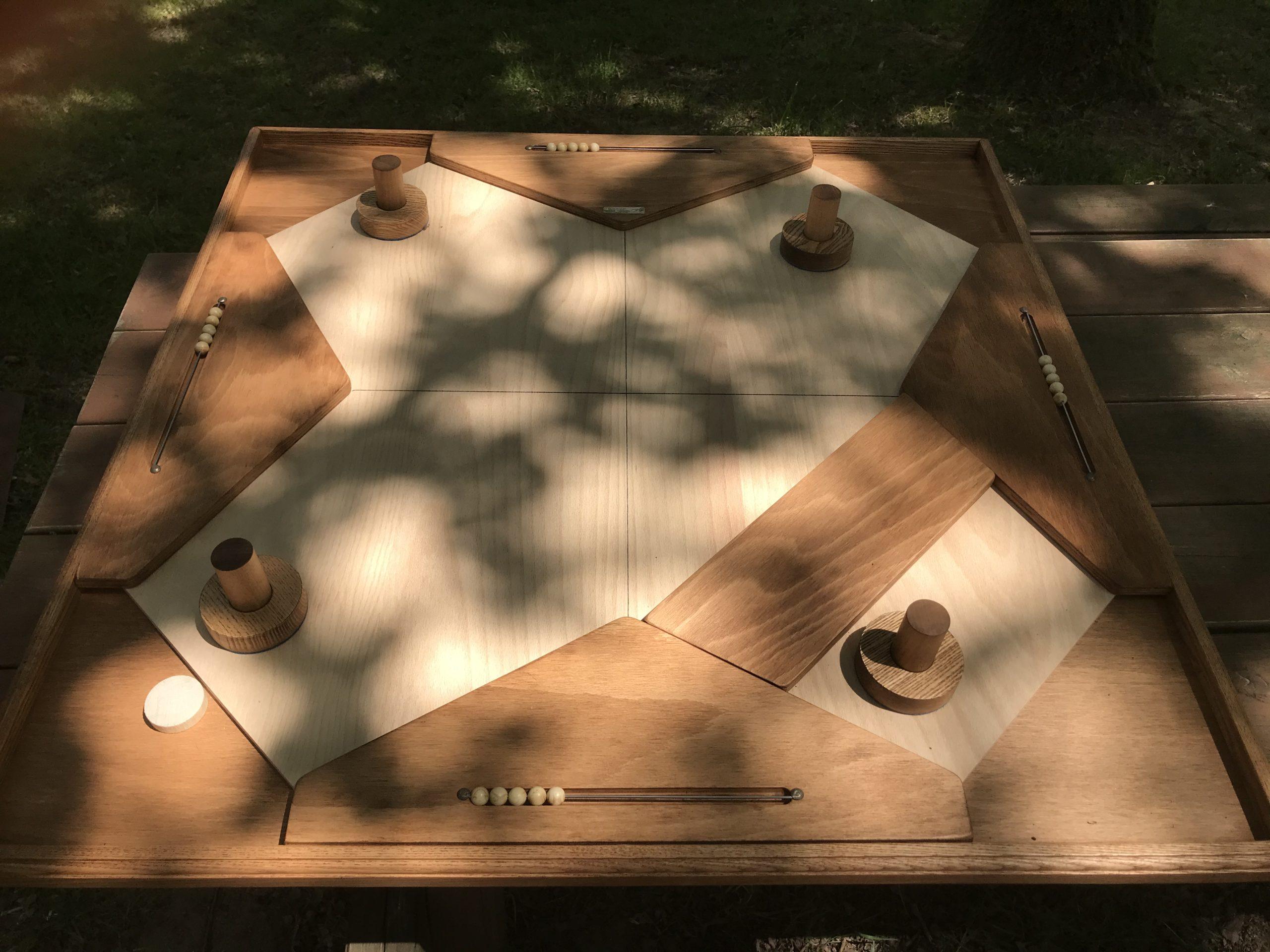 Table à glisser carrée Géante